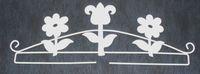 Dekobügel *Blume* 25cm