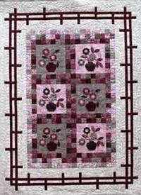 Kostenlose Nähanleitung Zen Blossom Quilt von Hilary Gooding