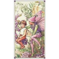 Patchworkstoff Fee Elfe Flower Fairy Panel Magical 60 x 112 cm CMB-DC 4265