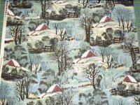 Patchworkstoff Stoff Quilt Winter Wonderland Winter Wunderland