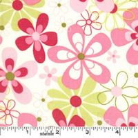 Patchworkstoff Candy Nearby Floral pastell Blumen