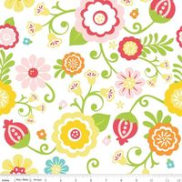 Patchworkstoff Quilt Stoff Simply Sweet Blumen mix