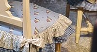 Kostenlose Nähanleitung Stuhlüberzug