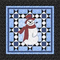Kostenlose Nähanleitung Frosty Quilt von Toby Lischko