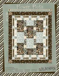 Kostenlose Nähanleitung Quilt Flower Pots von Maywood Studio