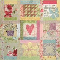 BOM L062 - Butterfly Garden - Block 2 - Leanne Beasley