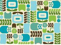 Patchworkstoff Stoff Quilt Piccadilly in Blau und Grün Tönen