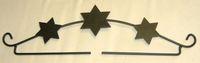 Dekobügel *Sterne - 3*, 21cm schwarz