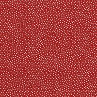 Patchworkstoff Cherry Garden Pindot - kirsch rot mit weißen Punkten