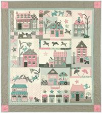 Raining Cats and Dogs Quilt Anleitung 1,40m x 1,57m