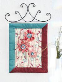 Wallhanging Wandbild `Deco Flowers` Materialpackung