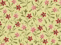 Patchworkstoff Quilt Stoff Celery - Posey - Ranken Blumen