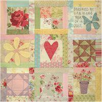 BOM L066 - Butterfly Garden - Block 6 - Leanne Beasley