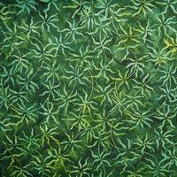 Patchworkstoff Quilt Stoff Bali Batik Songo Green