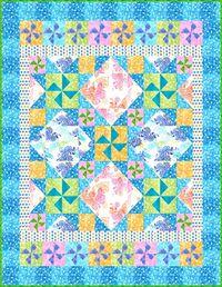 Kostenlose Nähanleitung Color Splash Quilt von Toby Lischko