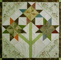 Gundis Garden Quilt Block 5 Materialpackung mit Anleitung