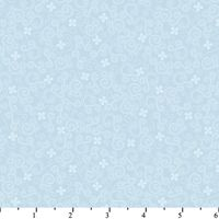 Patchworkstoff Quilt Stoff Karens Scribbles Starligth Blue