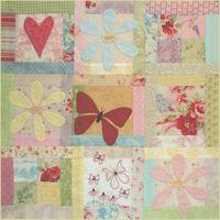 BOM L061 - Butterfly Garden - Block 1 - Leanne Beasley