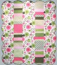 Kostenlose Nähanleitung Urban Greens Zebra Quilt; von Susan L. Meyer ; Fabri-Quilt