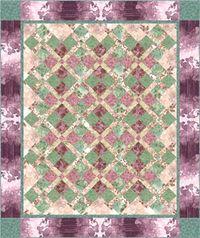 Kostenlose Nähanleitung Ceylon Quilt in pink von Nancy Mahoney