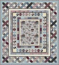Kostenlose Nähanleitung Quilt Apple Jacks von Wendy Sheppard; Quilters Garden