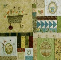 Gundis Garden Quilt Block 6 Materialpackung mit Anleitung