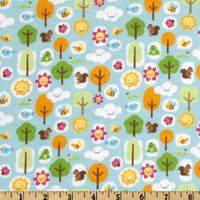 Patchworkstoff Quilt Stoff Flanell Mother Nature