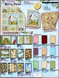 Kostenlose Nähanleitung `Quilt Berry Patch` von Jane Maday