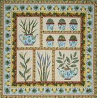 Kostenlose Nähanleitung `Quilt Herb Garden` von Anja Townrow