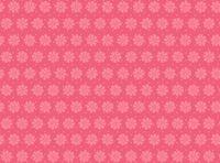 Patchworkstoff Stoff Quilt rosa Blumen auf rot