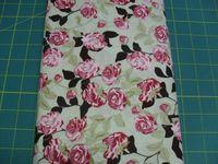 Patchworkstoff Stoff Quilt Rose Garden Rosen Garten, Design 10860 30x110cm