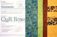 Patchwork Materialpackung Tischläufer `Herbst 1` 1,40x0,42