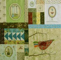 Gundis Garden Quilt Block 4 Materialpackung mit Anleitung