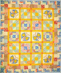 Kostenlose Nähanleitung Antique Treasures ; von Cathy Miles für Paintbrush Studio ; Fabri-Quilt