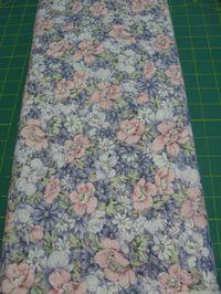 Patchworkstoff Stoff Quilt bunte Blumen Peter Pan Fabrics 30x110cm