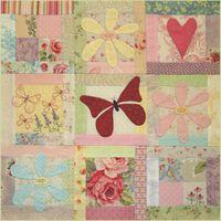 BOM L063 - Butterfly Garden - Block 3 - Leanne Beasley