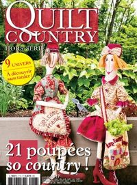 Patchwork Magazin Quilt Country HS No.17 - 21 poupées so country