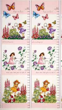 Patchworkstoff Quilt Stoff Panel Sprout and Spell 30cm x 110cm