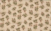 Patchworkstoff Stoff Quilt Vintage Rose kleine Rosen auf beige