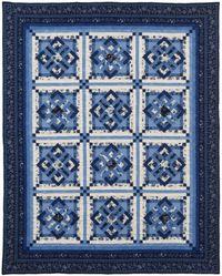 Kostenlose Nähanleitung Quilt Anabelle von Heather Porter für Timeless Treasures