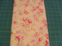 Patchworkstoff Stoff Quilt Red-White Flowers rot und weisse Blumen