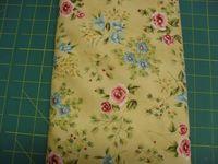 Patchworkstoff Stoff Quilt Jasmine Classically Home Rot und Blaue Blumen von Marianne Elizabeth, RJR Fabrics 30x110cm