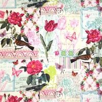 Patchworkstofff Belle Rose French Journal Collection