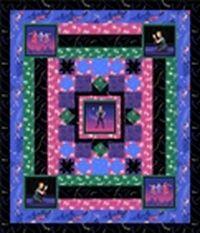 Kostenlose Nähanleitung für Quilt `Off to Neverland` von Peter Pan für QT