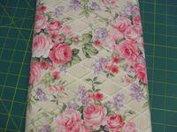 Patchworkstoff Stoff Quilt CP24798 Afternoon Tea Rose Lila und Rosa Blumen, Trellis Legacy Studio 30x110cm