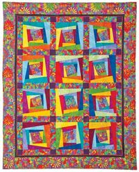 Kostenlose Nähanleitung Quilt Oodles of Doodles II by Ricky Tims