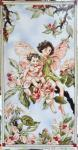 Patchworkstoff Fee, Elfe, Flower Fairy Panel Apple Blossom, Apfelblüte; 60x112cm