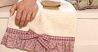 Kostenlose Nähanleitung Handtuch