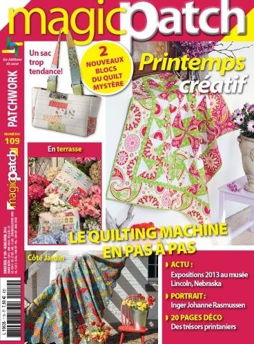 Patchwork Magazin Magic Patch 109 - Printemps créatif