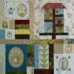 Gundis Garden Quilt Block 8 Nähanleitung
